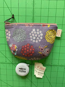 Neptune Bucket Zipper Pouch