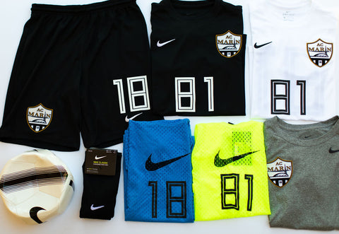 Mandatory Nike Kit for 20/21 Season - Required for all AC Marin players