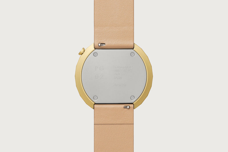 POLYGON-PG02 (Gold/Beige)