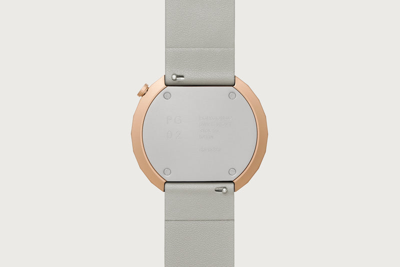 POLYGON-PG02 (Rose Gold/Grey)