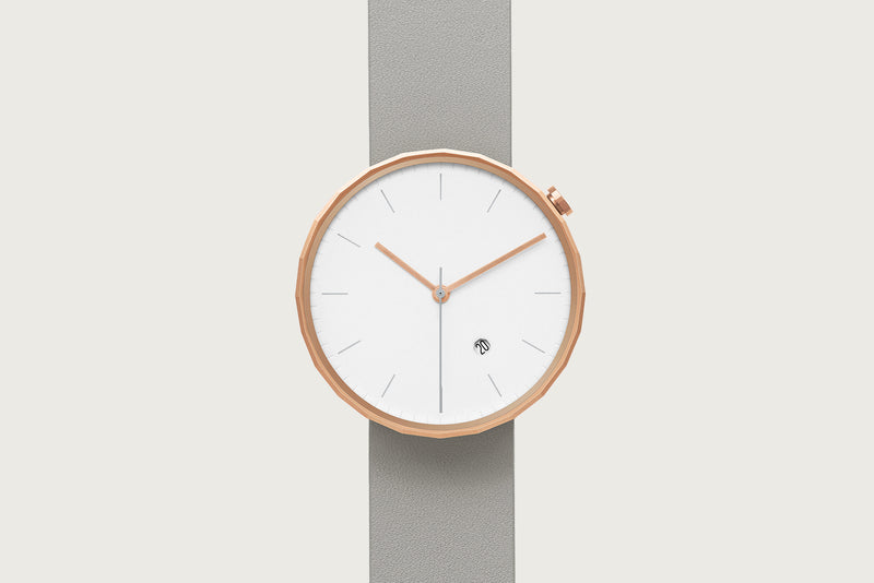 Polygon PG02 - Rose Gold/ Grey