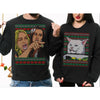 Woman Yelling At Cat Ugly Christmas Sweater-GST