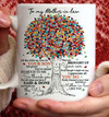 To my mother in law thank for the ways that you brought up your soon coffee mug, mother's day gift for mother in law, mother in law birthday gift ideas, birthday gift ideas for mother in law
