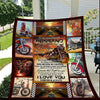 Wife to husband - My husband is the hottest biker quilts, bikers, bikers gift ideas, valentine gifts for him, valentine gifts for husband 2020, best gift for husband, meaningful gift for husband - GST