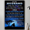 G-Biker poster - To my Husband - I love you more than, valentine gifts for husband, best gift for husband valentine, birthday gift for husband, valentine gift for my husband, gift ideas for my husband,best gift ideas for husband