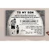 G- Soccer poster - Dad to Son - Never lose 1