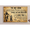 G-Biker poster - Dad to Son - I love you 2