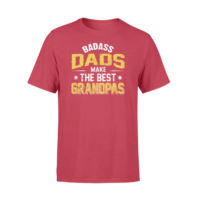 Badass dad make the best grandpas t shirt