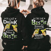 Best selling - Gifts for best friend - Please return to bestie when im drunk couple hoodie - GST