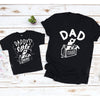 Dad and dad's little toolbox helper daddy and me shirts - GST