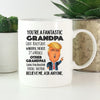 Fantastic Grandpa Trump Mug Gift For Grandfather