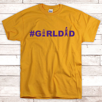 G4-Girldad girl dad retro t-shirt - GST