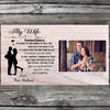 To my wife you are my everything custom picture poster canvas - GST