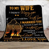 To my wife you are my destiny sleep tight blanket for wife from husband christmas gift ideas for wife, best valentine gift for wife, best valentine gifts for wife, valentine gifts for wife 2020, good gifts for wife