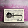 If My Words Did Glow Ripple Poster Canvas - Home Decor Gsge