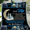 G-wolf blanket - To my wife - I wish I could turn back