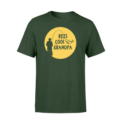 reel cool grandpa T shirt - Gifts for grandpa