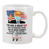 Happy father's day 2020 trump mug Gift for dad