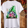 Love peace gnome st patricks day shamrock shirt - GST