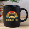 Gifts for cat lovers - Best cat dad vintage style coffee mug - GST
