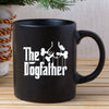 Gifts for dog lovers - The dogfather dog dad coffee mug - GST