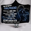 (QL109) Family blanket- to my gorgeous girlfriend - i may not get
