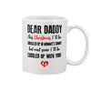 Dear Daddy This Christmas I'll Be Snuggled Up In Mommy's Tummy But Next Year I'll Be Cuddled Up With You Mug Gift For First Time Dad, For New Dad, Gift For Husband