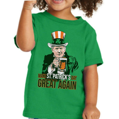 G3-Donald trump make st patrick's day great again shirt - GST
