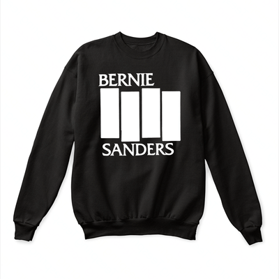 Bernie sanders black flag shirt - GST