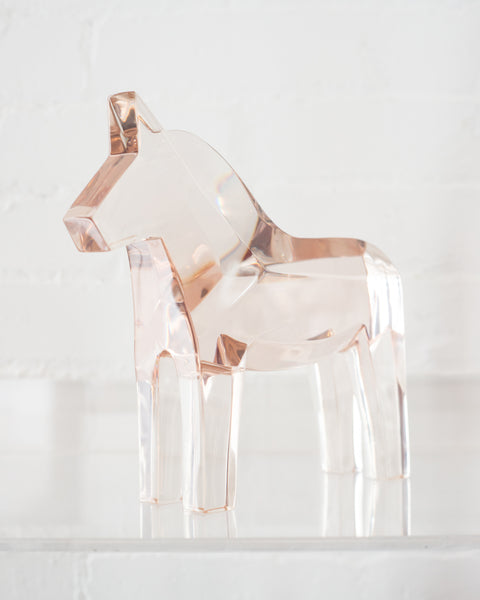 CONTEMPORARY LARGE RESIN HORSE SCULPTURE