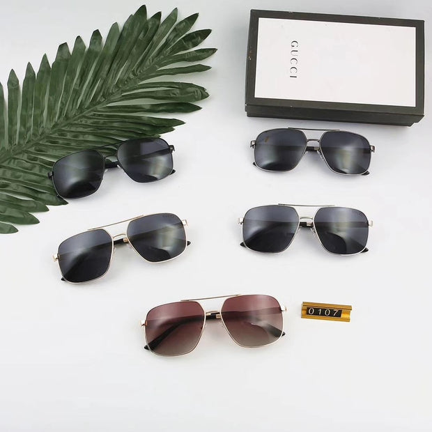 Gucci Sunglasses GG0107 - Silver black _mxm_store_exclusive_brands