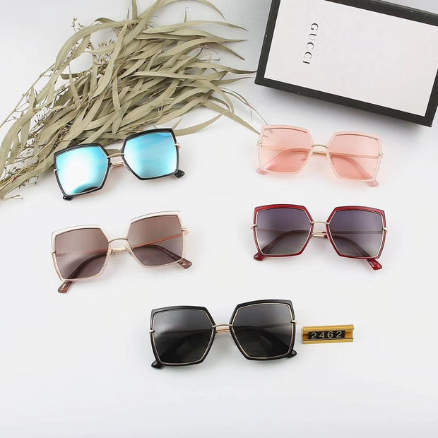 Gucci Sunglasses GG2462 - Grey and Red _mxm_store_exclusive_brands