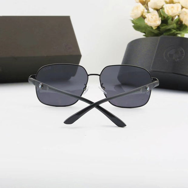 BMW Style Men's Sunglasses - Black Frame & Lenses _mxm_store_exclusive_brands