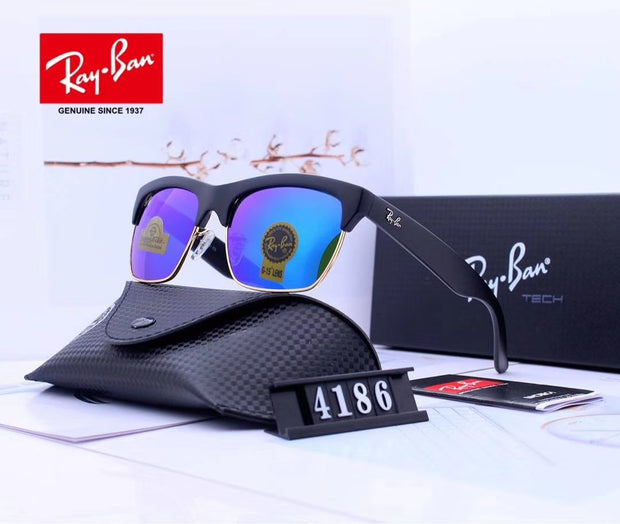 Ray Ban RG4186-57  - Black Frame and Blue Gradient Lenses _mxm_store_exclusive_brands