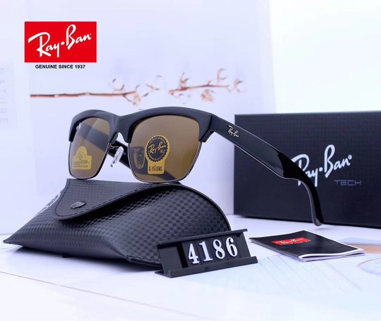 Ray Ban RG4186-57  - Black Frame and Brown Lenses _mxm_store_exclusive_brands