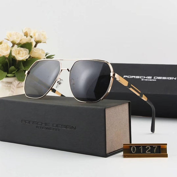 Porsche Design Sunglasses P0127 - Golden Frame & Grey Gradient Lenses _mxm_store_exclusive_brands