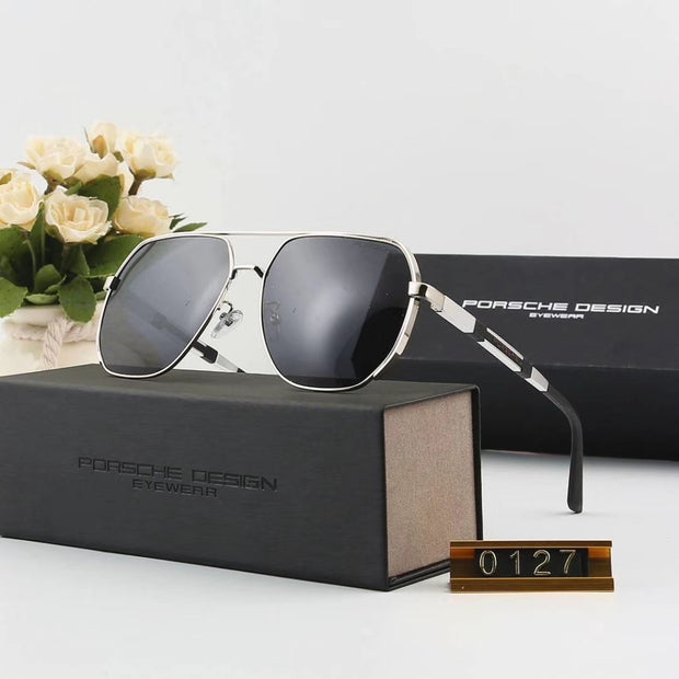 Porsche Design Sunglasses P0127 - Silver Frame & Black Gradient Lenses _mxm_store_exclusive_brands