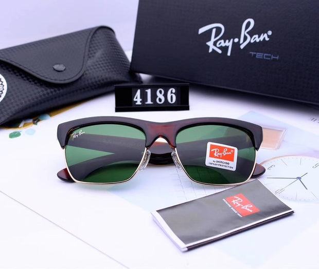 Ray Ban RG4186-57  - Turtoise Frame and Green Lenses _mxm_store_exclusive_brands