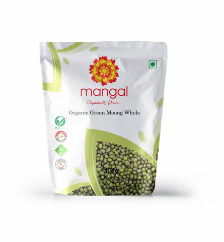 Organic Green Moong Whole
