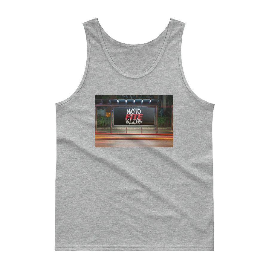 Moto Fite Klub Billboard Tank top Grey