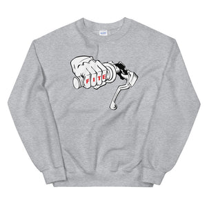 No Brakes Sweatshirt Grey