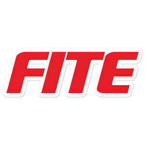 Fite Logo Sticker Large