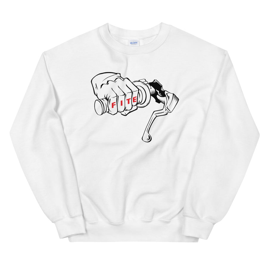 No Brakes Sweatshirt White
