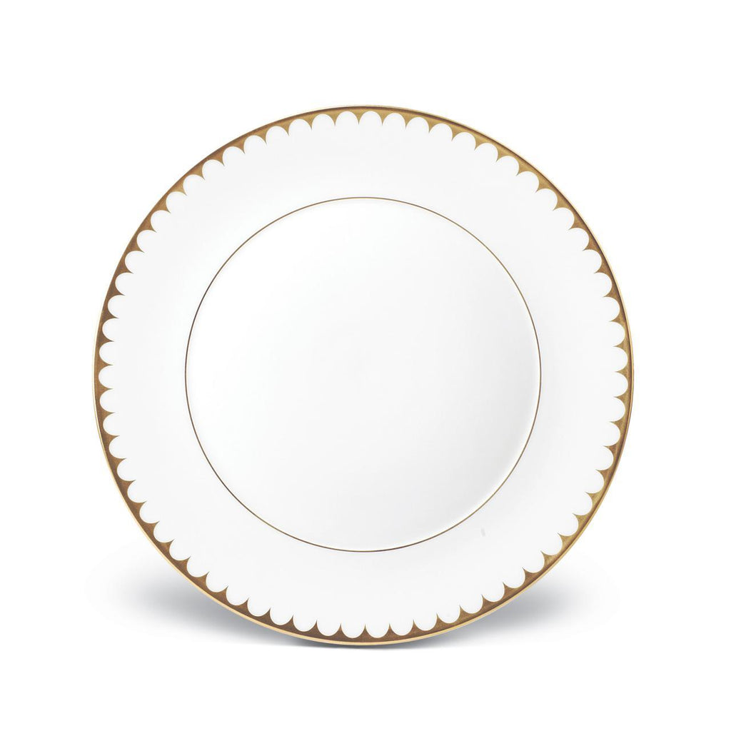 Aegean Filet Dinner Plate - Gold - L'Objet