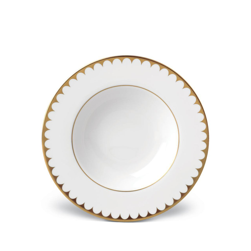 Aegean Filet Soup Plate - Gold - L'Objet