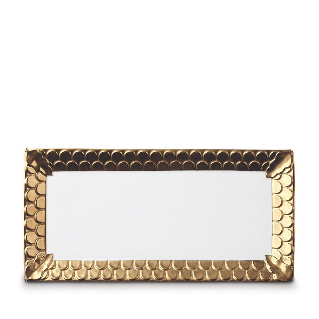 Aegean Rectangular Platter - Medium - Gold - TERTIUS COLLECTION