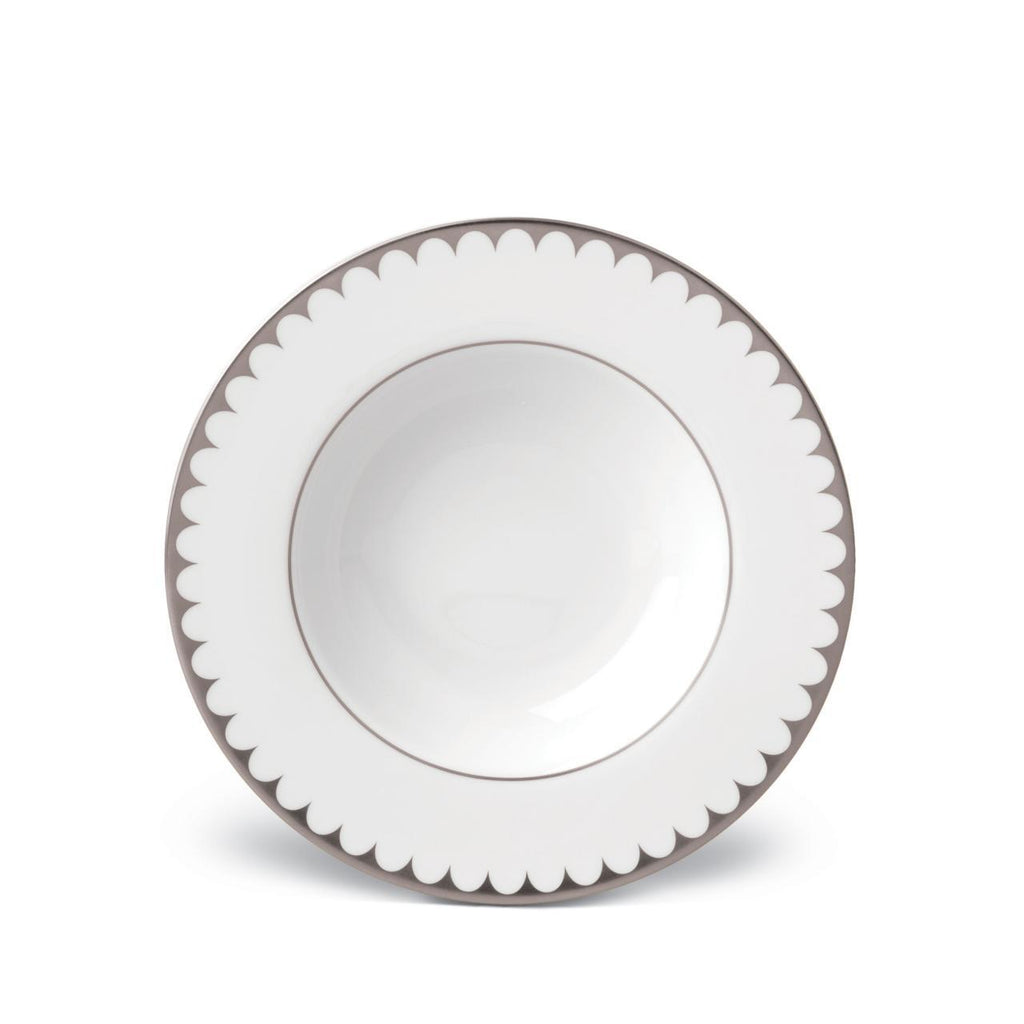 Aegean Filet Soup Plate - Platinum