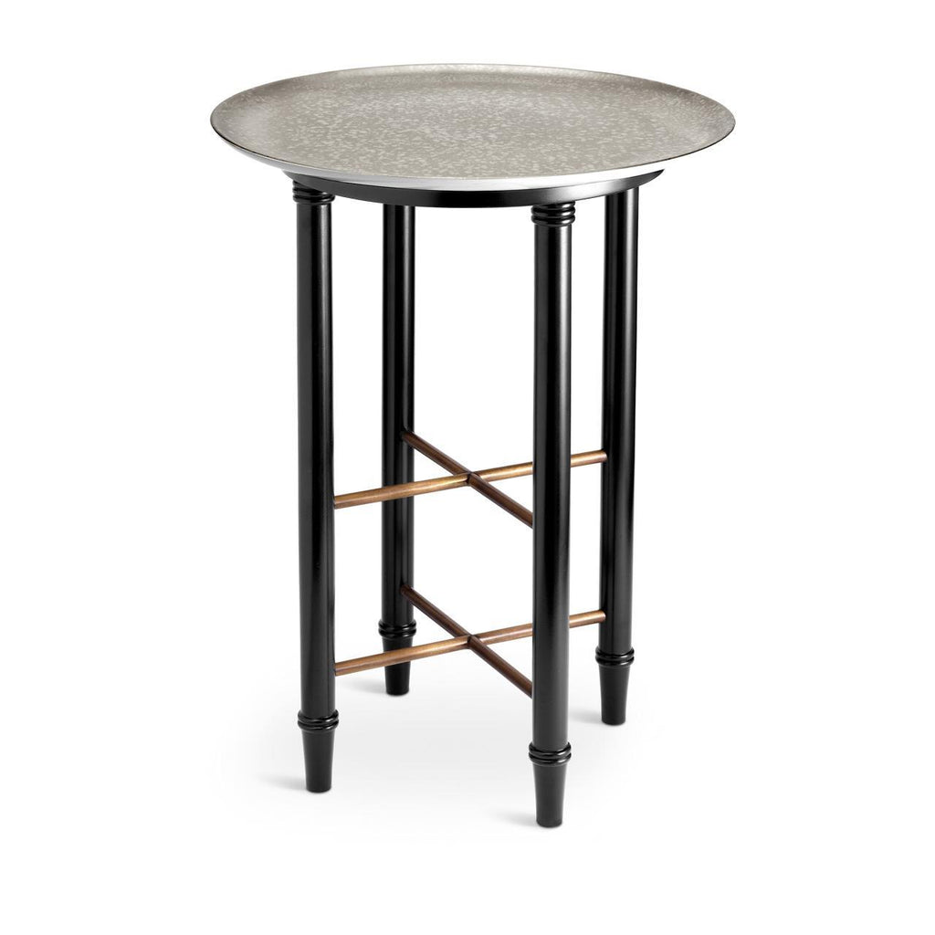 Alchimie Side Table - Medium - Platinum - L'Objet