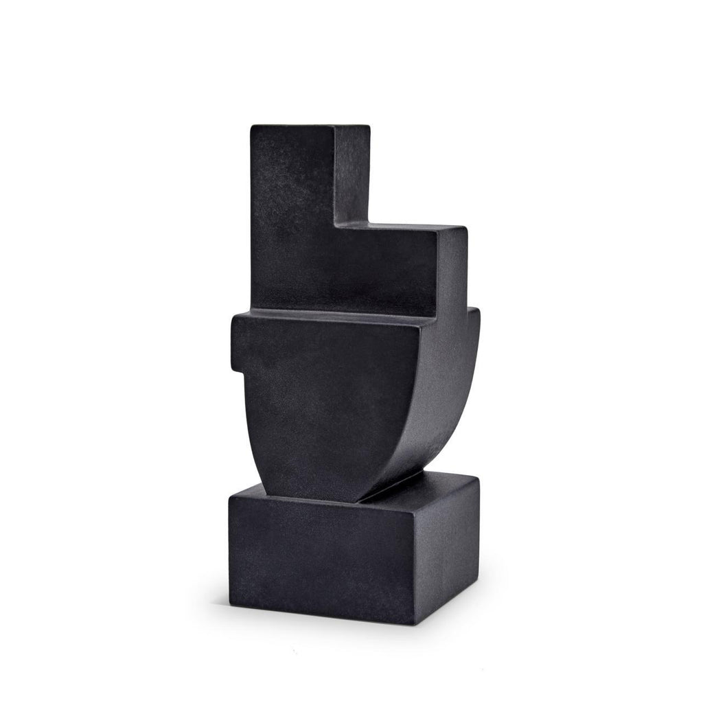Cubisme Two Bookend - Black - L'Objet