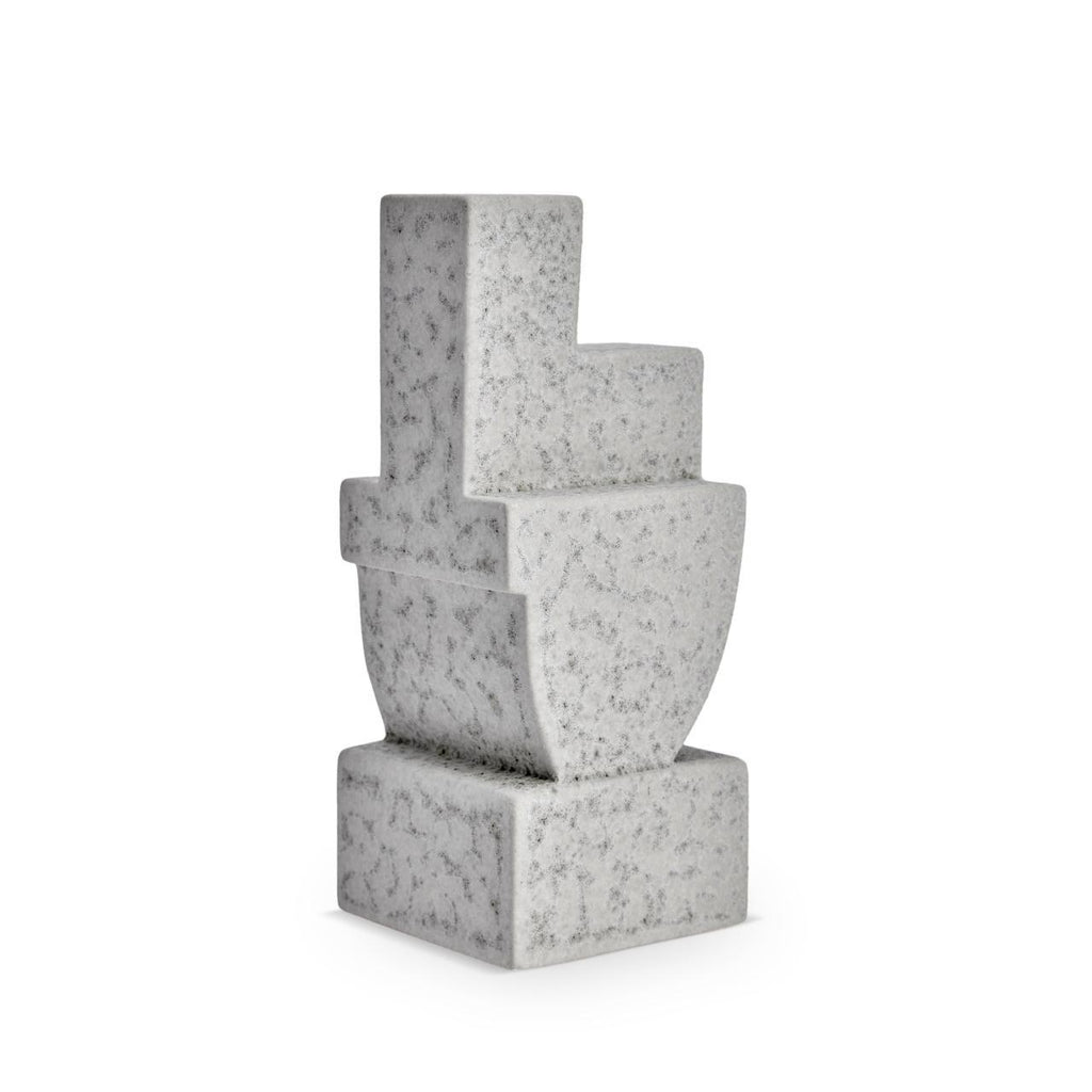 Cubisme Two Bookend - Grey